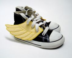 Superhero Yellow Wings by Smallfly on Etsy too funny!
