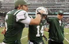 "CBS Sports - ""PHOTO of the Day: Mark Sanchez and Tim Tebow look SO sincere in congratulating Greg McElroy"" (December 2, 2012)"