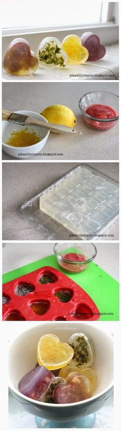 How To Make Fruity Soap…