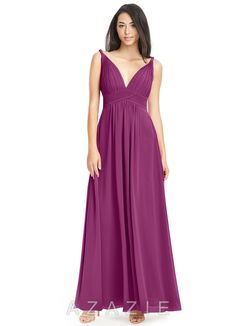 Shop Azazie Bridesmaid Dress - Azazie Maren in Chiffon. Find the perfect made-to-order bridesmaid dresses for your bridal party in your favorite color, style and fabric at Azazie. Pewter Bridesmaid Dresses, Azazie Bridesmaid Dresses, Prom Dresses, Wedding Dresses, Bridesmaids, Azazie Dresses, Evening Dresses, Custom Dresses, Chic Dress