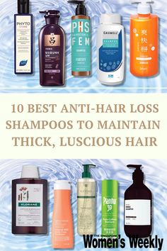 Hair loss affects 73 per cent of the Asian population, and if you want to consider changing up your routine to add more volume, try our picks here For those who are afflicted, or feel like they are seeing early signs, here are 10 anti-hair loss and thinning shampoos that might help. #antihairloss #haircare Scalp Care Shampoo, Anti Hair Loss Shampoo, Hair Growth Shampoo, Asian Hair Growth, Asian Hair Care, Sensitive Scalp, Oily Scalp, Cypress Essential Oil, Luxury Cosmetics