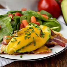 5 Ingredient BBQ Avocado Bacon