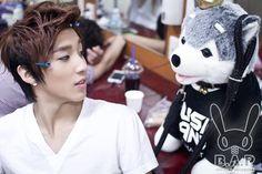 B.A.P with 브라우니   종업 (Jong Up)