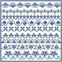 Cross Stitch Borders Sampler Vol. 7 - Cross Stitch - Designs By Janet Sansom Cross Stitch Boarders, Cross Stitch Letters, Cross Stitch Bookmarks, Cross Stitch Heart, Simple Cross Stitch, Cross Stitch Samplers, Cross Stitch Designs, Cross Stitching, Cross Stitch Embroidery