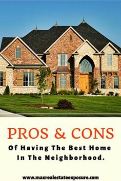 Real Estate Articles, Real Estate Information, Real Estate Tips, Real Estate Sales, Real Estate Marketing, What House, Good House, Sell Your House Fast, Property Values