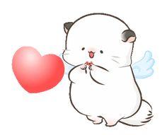 Cute Cartoon Images, Cute Love Cartoons, Cute Cartoon Wallpapers, Cute Bear Drawings, Cute Girl Drawing, Cute Love Pictures, Cute Love Gif, Gif Animé, Animated Gif
