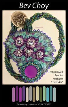Eva Maria Keiser Designs presents: Artisan Colorway Series: Bev Choy Blog:  http://beadingbipolar.blogspot.com/ Etsy Shop:  https://www.etsy.com/shop/VChoyArtJewelry Facebook Page link: https://www.facebook.com/pages/VChoy-Art-Jewelry/1467629903503550