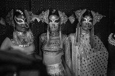 electric goddesses at Manish Arora