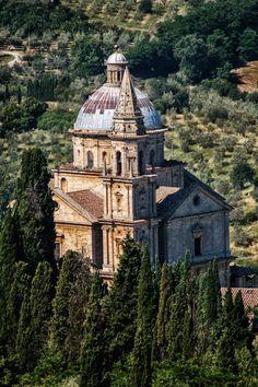 (Chapter 7) San Biagio, Montepulciano, Italy. Memorial structure-  Martyrium