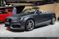 Audi A3 Cabriolet at Frankfurt IAA