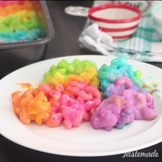 Who knew the rainbow actually tasted like cheese?