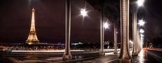 Eiffel tower from Bir Hakeim Bridge - I wanted to reproduce that wide angled shot I saw few times. Needless to say my 24mm was way to narrow and I went for 4 long exposures stitched together. Post process to get a very clear area beneath the bridge, green desaturated. I hope you like it. You can follow me on facebook: https://www.facebook.com/StephaneLaurentPhotography and watch my 2016 video : https://youtu.be/wL7qywx29rs
