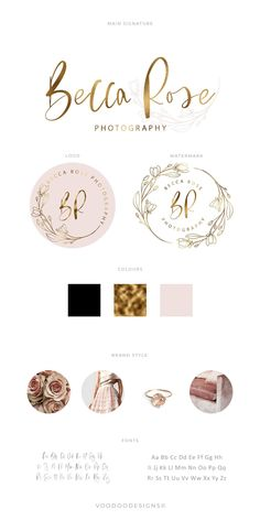 Excited to share the latest addition to my #etsy shop: Floral logo, Premade logo, Branding kit, Logo design, Photography logo, Watermark, Business logo, Photography watermark, Custom logo. #logodesign #watermark #photographylogo #brandinglogo #logosandbranding #gold #pink #florallogo #flowerlogo #delicatelogo