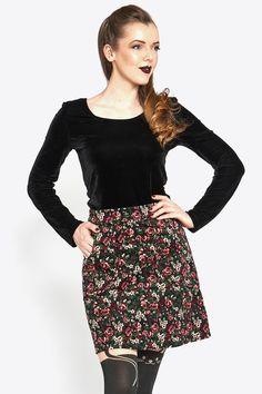 front_black Princess Highway, Cute Princess, Fashion Beauty, Sequin Skirt, Sequins, Floral, Skirts, Black, Women