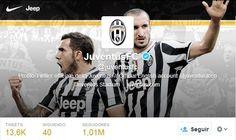 La Juventus supera el millón de fans en twitter