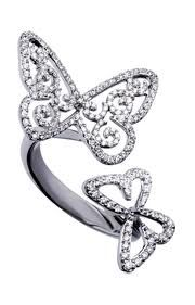 lovely butterfly ring from Messika - want it... Now!