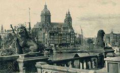 1931 Oostertoegang Amsterdam (fotograaf H.J.M. Valks, Spaarnestad Photo)