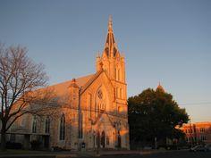 church,steeple,fredericksburg texas