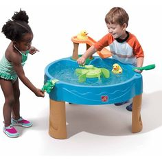 Shop online for kids sandboxes, sand tables and water tables. kids sand & water tables provide countless hours of fun for toddlers & preschoolers. Toddler Fun, Toddler Toys, Kids Toys, Toddler Stuff, Baby Toys, Water Play Activities, Summer Activities For Kids, Sensory Play, Outdoor Toys