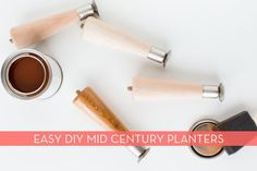 Make It: Easy DIY Mid-Century Inspired Planter IKEA Hack