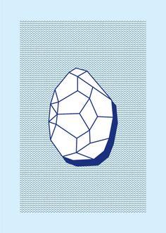 Silex Screen Print by Studio Kamargo #illustration
