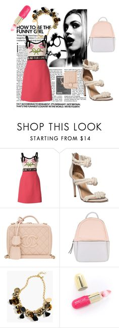 """""""#7"""" by looksforfandoms ❤ liked on Polyvore featuring Gucci, Chanel, Calvin Klein, J.Crew, Winky Lux and vintage"""