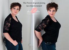 Posing: Slimming Curvy Women