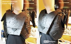 Destiny Hunter Chest Armor WIP 3 by SKSProps on DeviantArt