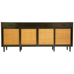 Edward Wormley Cabinet   From a unique collection of antique and modern buffets at https://www.1stdibs.com/furniture/storage-case-pieces/buffets/