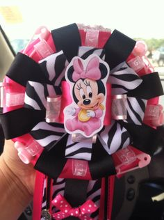 Baby Minnie Mouse Corsage on Etsy, $25.00