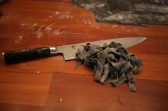 Day of pasta...making!! Nero Di Sepia Pasta...