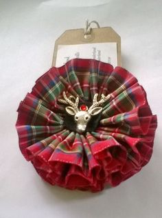 Items similar to Scottish Brooch Royal Stewart Red Tartan Stag Corsage on Etsy Handmade Shop, Etsy Handmade, Handmade Gifts, Tartan Crafts, Royal Stewart Tartan, Tartan Christmas, Scottish Gifts, Etsy Business, Etsy Crafts