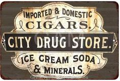 city drug store sign - Google Search