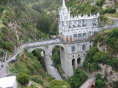 Santuario de las Lajas. Colombia