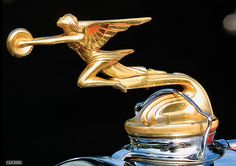 "Packard ""Goddess of Speed"" Vintage Hood Ornaments"