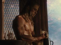 thor, thor the dark world, 2010s, 2013, film, marvel comics, comics, comic books, comic book movies, chris hemsworth, moobs