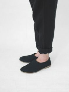 evam eva/商品詳細 nubuck slip-on shoes