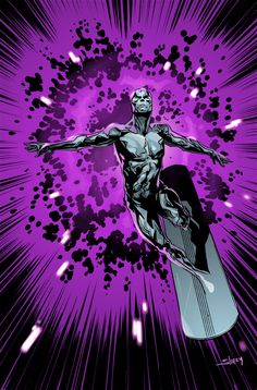 Marvel: Silver Surfer by Will Sliney, Love Colors