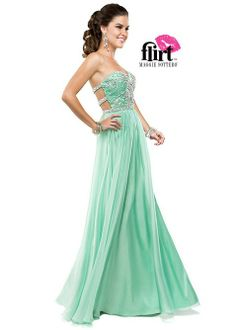 Flirt by Maggie Sottero P5828 Chiffon Evening Gown
