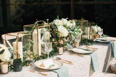 romantic organic wedding at Elysian LA - photo by Erin J Saldana Photography…