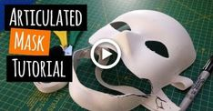 How to Make a Mask that Moves with your Face (Batman Scarecrow Mask Base) Batman Cosplay, Cosplay Armor, Cosplay Diy, Cosplay Ideas, Costume Ideas, Epic Halloween Costumes, Robot Costumes, Halloween Diy, Witch Costumes