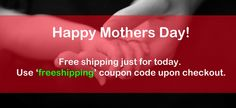 FREE SHIPPING on ALL items just for TODAY! Enter the code: freeshipping. Happy happy #MothersDay to you all beauty moms!! :) #MothersDay #MothersDayGiftIdeas #MothersDay2015 #ilovekeekay Makeup Online, Just For Today, Happy Mothers Day, Coupon Codes, Coding, Free Shipping, Store, Beauty, Larger