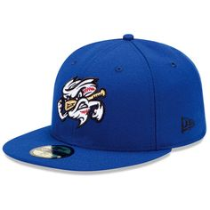 09ef21ed35 Omaha Storm Chasers Authentic Home Fitted Cap - Kansas City MiLB New Era  Fitted
