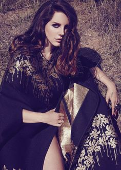 Lana Del Rey for Madame FigaroPhotograph by James White