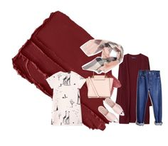 """""""Untitled #3"""" by hatice-yeppuda on Polyvore featuring Violeta by Mango, Levi's, Rochas, Miu Miu, New Look and Burberry"""