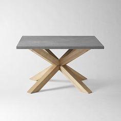 I love the Axis Coffee Table, Slate on westelm.com