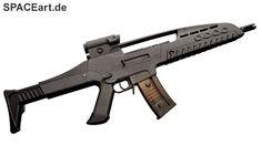 xXx 2: XM8 Sturmgewehr, Fertig-Modell ... http://spaceart.de/produkte/xxx001.php