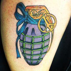 Grenade tattoo