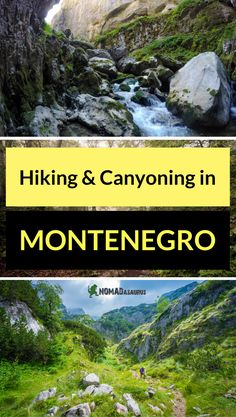 Add Durmitor National Park to your list of things to do in Montenegro. There is so much to do, hiking, camping and canyoning to name a few. Great place to have some adventure in Montenegro. Canyoning in Montenegro or hiking in Montenegro or both. Choice is your.