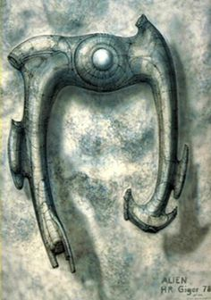 The original Alien Space Jockey craft. No engineers allowed. Hr Giger Art, Hr Giger Alien, Abstract Sculpture, Sculpture Art, Metal Sculptures, Bronze Sculpture, Alien Spaceship, Predator Alien, Alien Concept Art